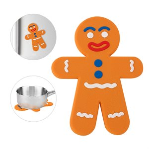 Gingerbread Man Magnetic Trivet