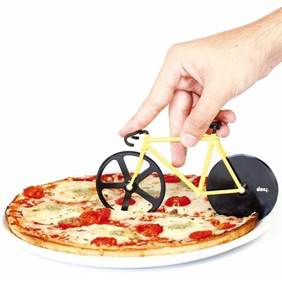 Fixie pizza cutter-Bumblebee