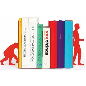 Evolution bookends-Red