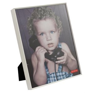 Cool Grey Aluminum Photo Frame 8x10