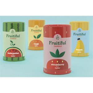Fruitiful Candles