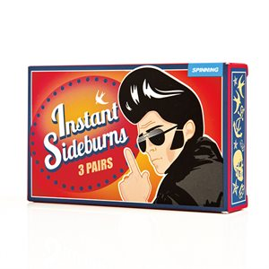 Rockabilly Instant Sideburns