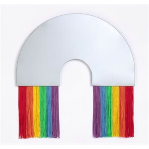 Rainbow Wall Mirror M