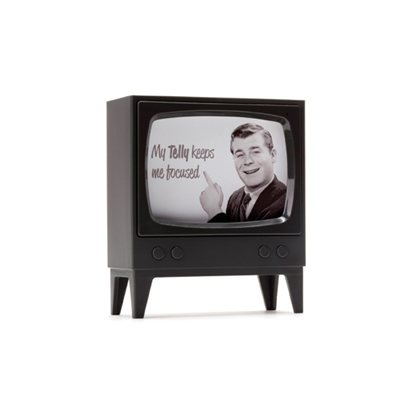 Telly Memo Holder-Charcoal