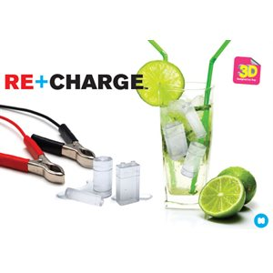 Re+Charge Battery Ice Tray