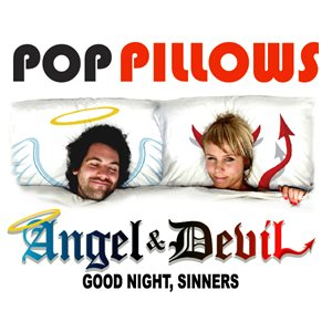 Pop Pillows-Angel and Devil