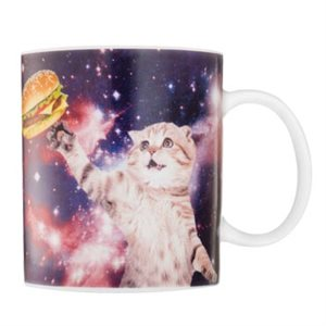 Cat In Space Mug
