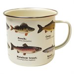 Multi Fish Enamel Mug