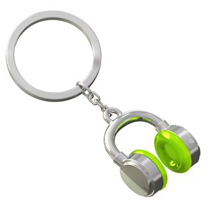 Keychain-MUSIC Lime