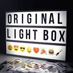 Lightbox with Black letters-Standard Size